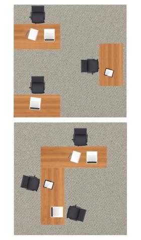 sociopetal and sociofugal layout